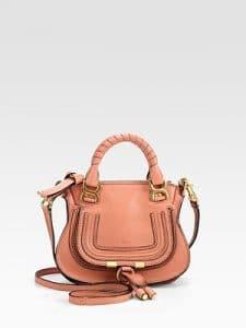 Chloe Waterlily Mini Marcie Bag