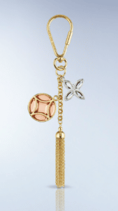 Louis Vuitton Ice Flower Key Holder