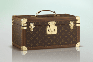 Louis Vuitton Monogram Canvas Case With Mirror