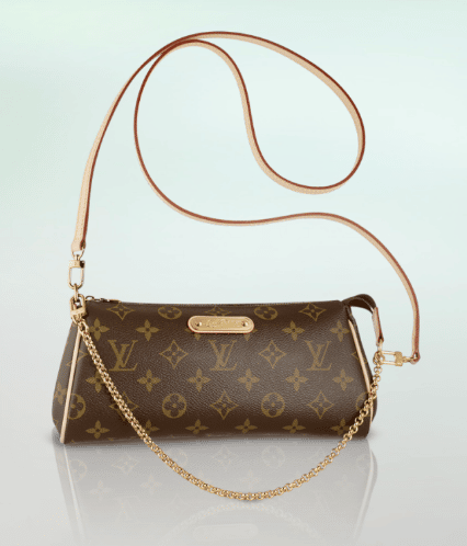 Louis Vuitton Monogram Canvas Eva Clutch Bag