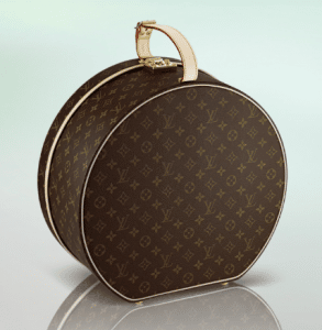Louis Vuitton Monogram Canvas Hat Box
