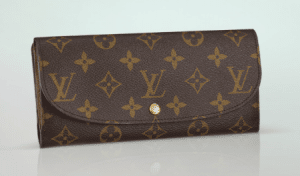 Louis Vuitton Monogram Canvas Louise Wallet