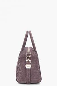 Givenchy Croc Embossed Antigona Bag