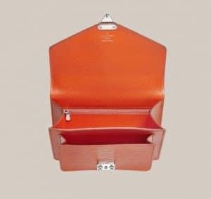 Louis Vuitton Orangr Piment Monceau BB bag