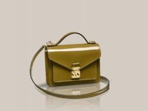 Louis Vuitton Vert Olive Monceau BB bag