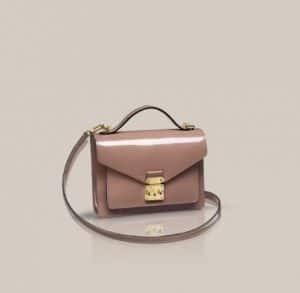 Louis Vuitton Monceau Rose Velours BB bag