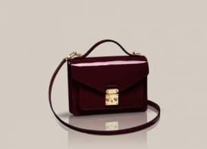 Louis Vuitton Amarantr Monceau Vernis BB bag