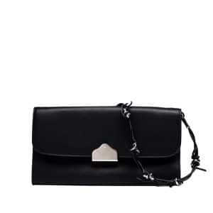 Balenciaga Black Flap Bag