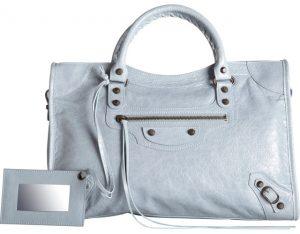 Balenciaga Bleu Acier Classic City Bag