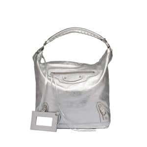 Balenciaga Silver Day Bag