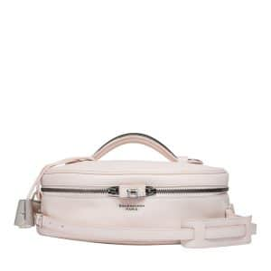 Balenciaga Light Pink Small Cylinder Bag