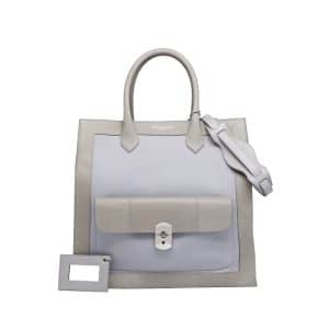 Balenciaga Grey and Lilac Padlock All Afternoon