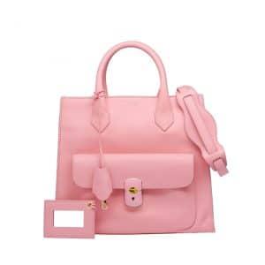 Balenciaga Pink Padlock All Afternoon Bag