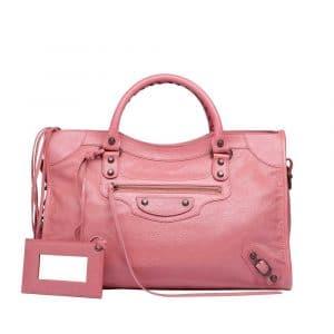Balenciaga Rose Bonbon Classic City Bag