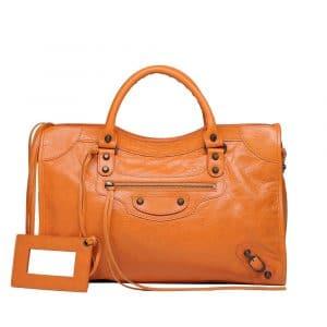 Balenciaga Tangerine Classic City Bag