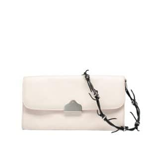 Balenciaga White Flap Bag