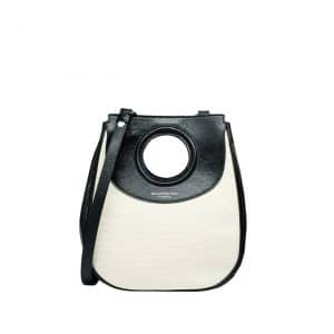 Balenciaga White and Black Bag