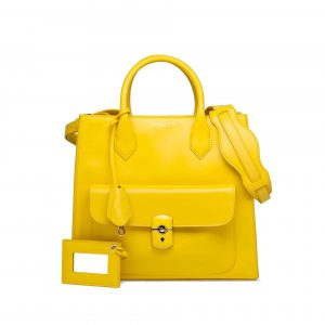 Balenciaga Yellow Afternoon All Afternoon Padlock Bag - Spring 2013
