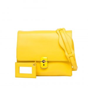 Balenciaga Yellow Padlock All Day Bag - Spring 2013
