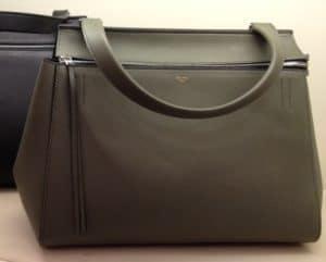 Celine Khaki Edge Medium Bag
