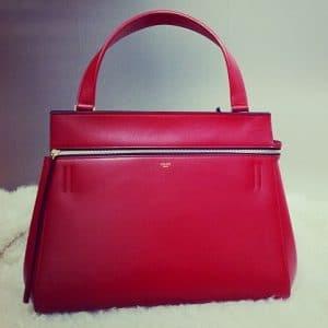 Celine Red Edge Medium Bag