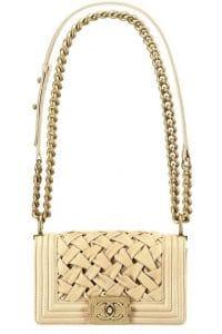 Chanel Beige Boy Chanel Chateau Bag