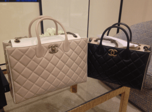 Chanel Beige and Black Portobello Bags