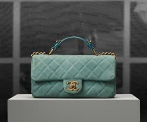 Chanel Chic Quilt Flap Irridiscent Flap Bag - Pre spring 2013