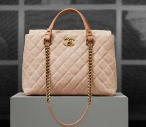 Chanel Chic Quilt Iridescent Tote Bag - Pre spring 2013