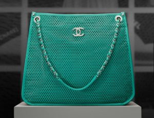 Chanel Green Up in the Air Tote Bag - Pre spring 2013