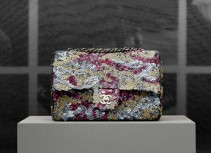 Chanel Multicolor Sequin Timeless Classic Flap Bag - Pre spring 2013