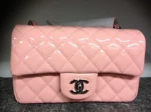 Chanel Pink Classic Mini Flap Bag