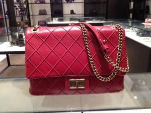 Chanel Red Rita Flap Bag - Cruise 2013