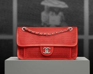 Chanel Up in the Air Perforated Calfskin Flap Bag - Prespring 2013