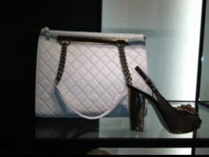 Chanel White Rita Tote Bag
