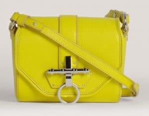 Givenchy Acid Yellow Obsedia Mini Bag