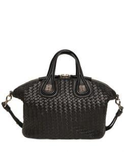 Givenchy Black Woven Nappa Nightingale Mini Bag