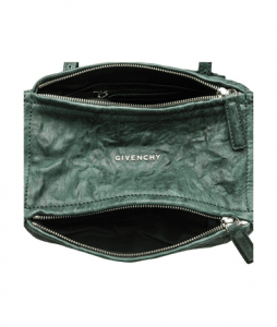 Givenchy Emerald Green Crinkle Pandora Mini Bag 2