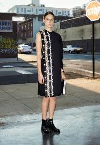 Givenchy Black and White Portfolio Bag