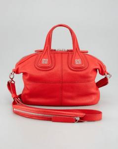 Givenchy Red Nightingale Mini Bag