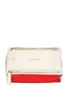 Givenchy White Multicolor Pandora Mini Bag