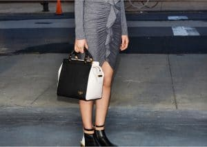 House De Givenchy Black and White Tote Bag - Prefall 2013