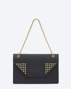 Saint Laurent Black Medium Betty Clous Bag