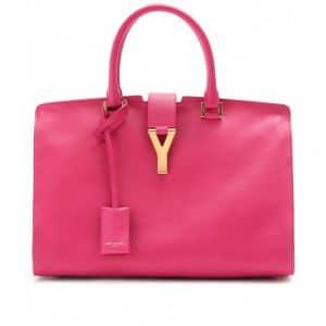 Saint Laurent Paris Pink Cabas Bag - Mytheresa