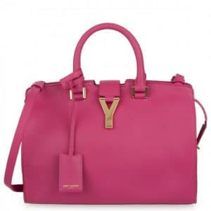Saint Laurent Paris Pink Cabas Bag - Spring 2013