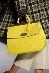 Mulberry Yellow Suffolk Bag