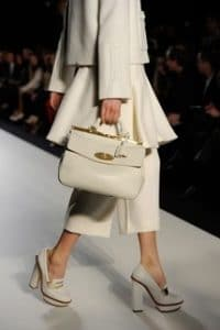 Mulberry Off White Small Suffolk Bag