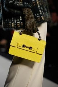 Mulberry Yellow Bayswater Shoulder Bag