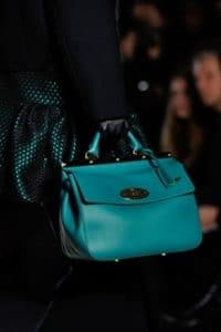 Mulberry Turquoise Small Suffolk Bag