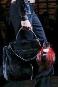Fendi Fall 2013 Peekaboo Bag in Black fur